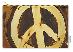 Carry-all Pouch featuring the digital art Peace 2 by Rabi Khan