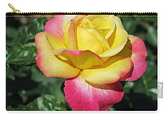 Peace And Love Rose Carry-all Pouch