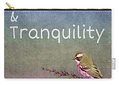 Peace And Tranquility  Carry-all Pouch