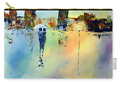 Carry-all Pouch featuring the painting Peace At Twilight by Raymond Doward
