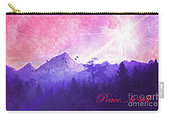 Carry-all Pouch featuring the digital art Peace Be Still 2016 by Kathryn Strick