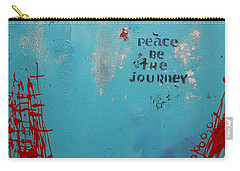 Peace Be The Journey Carry-all Pouch