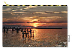 Peace Be With You Carry-all Pouch by Roberta Byram