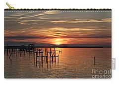 Peace Be With You Sunset Carry-all Pouch