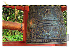 Peace Bell Carry-all Pouch by James Kirkikis