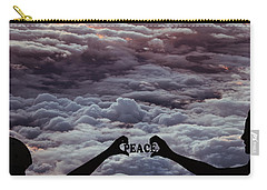 Carry-all Pouch featuring the photograph Peace - Digital Art by Ericamaxine Price