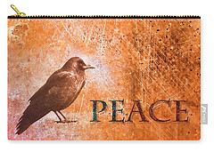 Carry-all Pouch featuring the photograph Peace Greeting Card by Carol Leigh