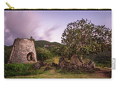 Carry-all Pouch featuring the photograph Peace Hill Ruins by Adam Romanowicz