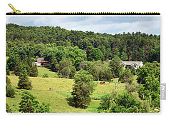 Peace In The Valley Carry-all Pouch by Helen Haw