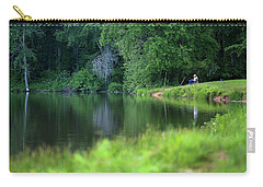 Carry-all Pouch featuring the photograph Peace by Lori Coleman