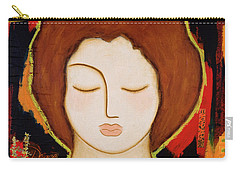 Carry-all Pouch featuring the painting Peace Messenger by Gloria Rothrock