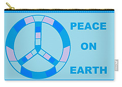 Peace On Earth 3 Carry-all Pouch