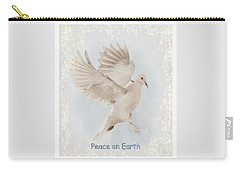 Carry-all Pouch featuring the photograph Peace On Earth by Diane Alexander