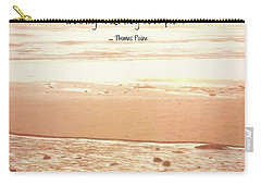 Carry-all Pouch featuring the photograph Peace by Peggy Hughes