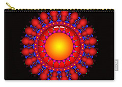 Carry-all Pouch featuring the digital art Peace by Robert Orinski