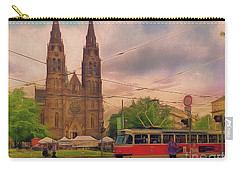 Peace Square Prague Carry-all Pouch