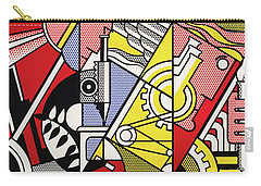 Peace Through Chemistry I Carry-all Pouch by Roy Lichtenstein