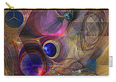 Peace Will Come Carry-all Pouch by John Robert Beck