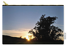 Carry-all Pouch featuring the photograph Peaceful Country Sunset  by Matt Harang