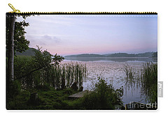 Peaceful Dawn At The Lake Enajarvi Carry-all Pouch