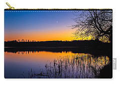 Carry-all Pouch featuring the photograph Peaceful Evening by Rose-Maries Pictures