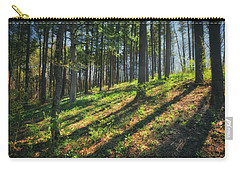 Peaceful Forest 4 - Spring At Retzer Nature Center Carry-all Pouch by Jennifer Rondinelli Reilly - Fine Art Photography