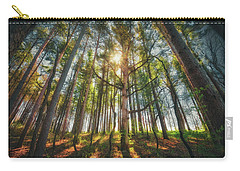Peaceful Forest 5 - Spring At Retzer Nature Center Carry-all Pouch by Jennifer Rondinelli Reilly - Fine Art Photography