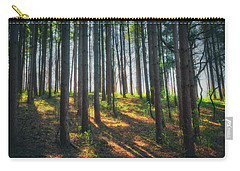 Peaceful Forest - Spring At Retzer Nature Center Carry-all Pouch by Jennifer Rondinelli Reilly - Fine Art Photography