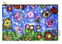 Peaceful Glowing Garden Carry-all Pouch