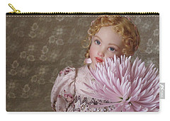 Carry-all Pouch featuring the photograph Peaceful Kish Doll by Nancy Lee Moran
