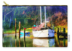 Carry-all Pouch featuring the photograph Peaceful Morning In The Cove by Brian Wallace