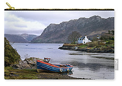 Carry-all Pouch featuring the photograph Peaceful Plockton by Jacqi Elmslie