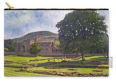 Peaceful Retreat - Melrose Abbey  Carry-all Pouch