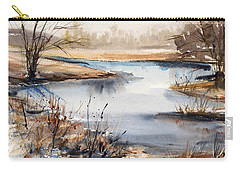 Peaceful Stream Carry-all Pouch by Judith Levins