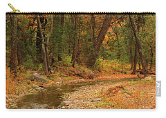 Carry-all Pouch featuring the photograph Peaceful Stream by Roena King