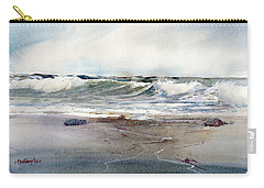 Peaceful Surf Carry-all Pouch by P Anthony Visco