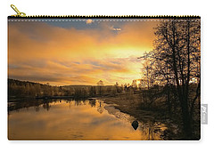 Peaceful Thoughts Carry-all Pouch by Rose-Marie Karlsen