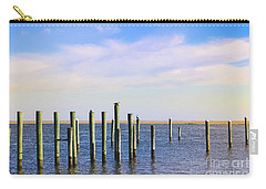 Carry-all Pouch featuring the photograph Peaceful Tranquility by Colleen Kammerer