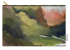 Carry-all Pouch featuring the painting Peaceful Valley by Michelle Abrams