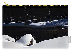 Peaceful Winter Scene Carry-all Pouch by C Sitton