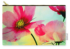 Carry-all Pouch featuring the digital art Peacefulness by Klara Acel