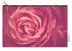 Blooms And Petals Carry-all Pouch