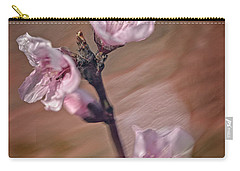 Peach Blossom Carry-all Pouch
