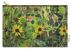 Peach-faced Lovebird 5890-092517-1 Carry-all Pouch