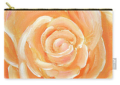 Peach Melba Carry-all Pouch