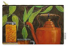 Peach Tea Carry-all Pouch by Mike Caitham