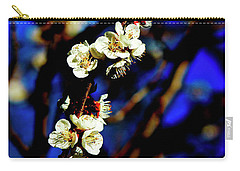 Peachcot Blooms Announce Spring In Colorado II Carry-all Pouch