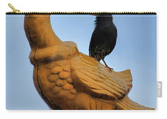 Peacock And The Starling Carry-all Pouch