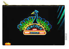 Peacock Diner In The Loop Carry-all Pouch