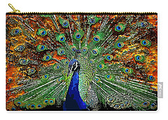Peacock Exploding Carry-all Pouch